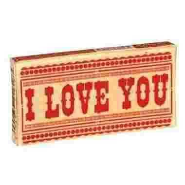 Doosje kauwgom stuks I love You