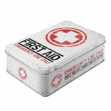 First aid bewaarblik