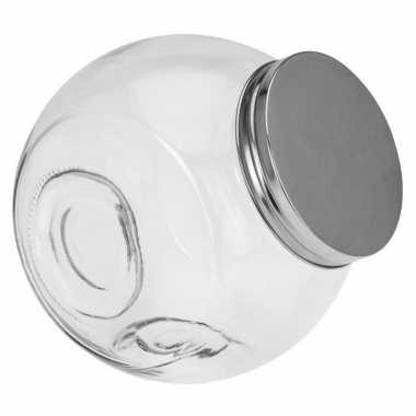 Glazen voorraadpot/snoeppot