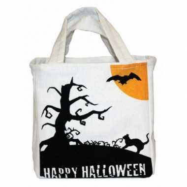 Halloween halloween snoep tas canvas