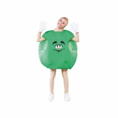 Snoep outfit groen