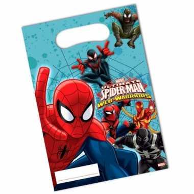 Spiderman uitdeelzakjes stuks