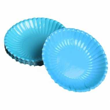 Turquoise chips schaaltjes