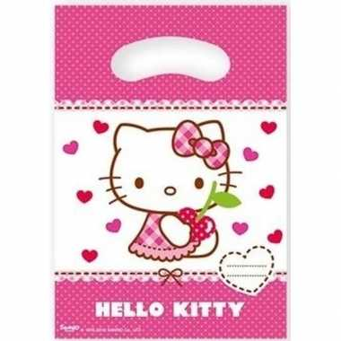 X hello kitty themafeest feestzakjes