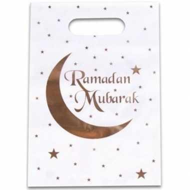 X ramadan mubarak thema feestzakjes/uitdeelzakjes