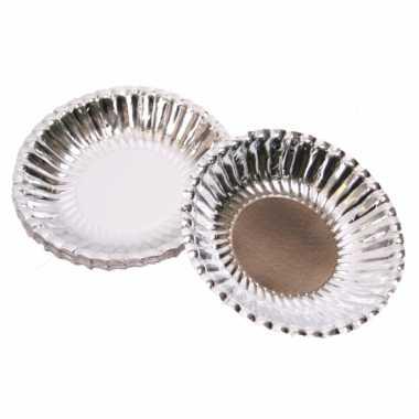 Zilveren chips schaaltjes
