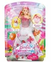 Barbie prinses pop licht geluid