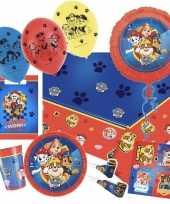 Mega paw patrol themafeest versiering pakket kinderen 10168340