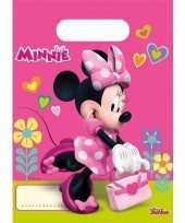 Minnie mouse feestzakjes stuks