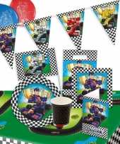Race formule thema kinderfeest pakket