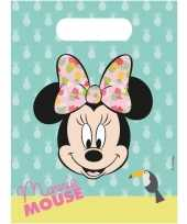 X disney minnie mouse tropical themafeest uitdeelzakjes 10150127