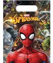 X marvel spiderman themafeest uitdeelzakjes